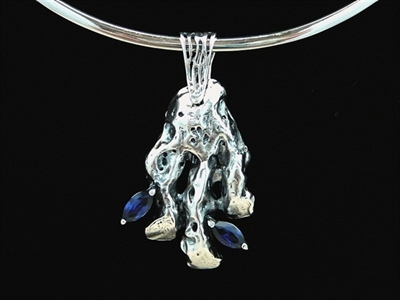 Picture of Art Clay Silver & Cubic Zirconia.