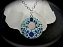 Picture of Pendant / Crystal Clay  & Swarovski Chatons