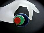 Picture of Aluminium & Melt art ring