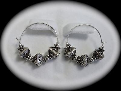 Picture of 925 silver earrings