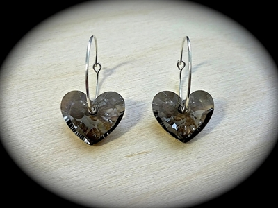 Picture of Swarovski & 925 silver earrings