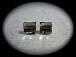 Picture of Swarovski cube earrings