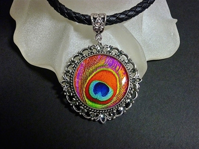 Picture of Peacock Feather Pendant